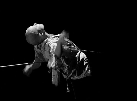 LUNIS. Solo performance by Nastya Ponomareva (DEREVO School)